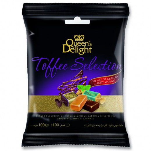 Queens Delight Toffee Selection Candy 100g