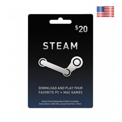 $20 Steam Card - US Store