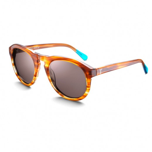 Triwa Horn Damien Unisex Sunglasses SHAC115
