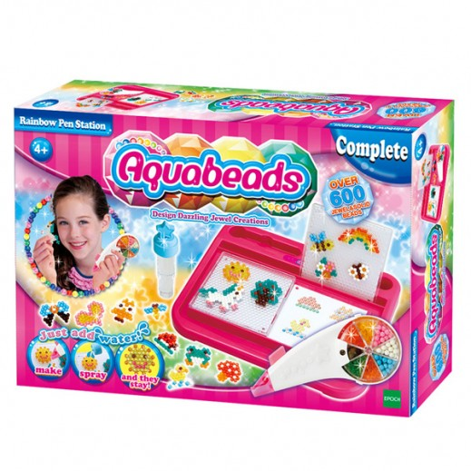 Aquabeads Rainbow Pen Station Set