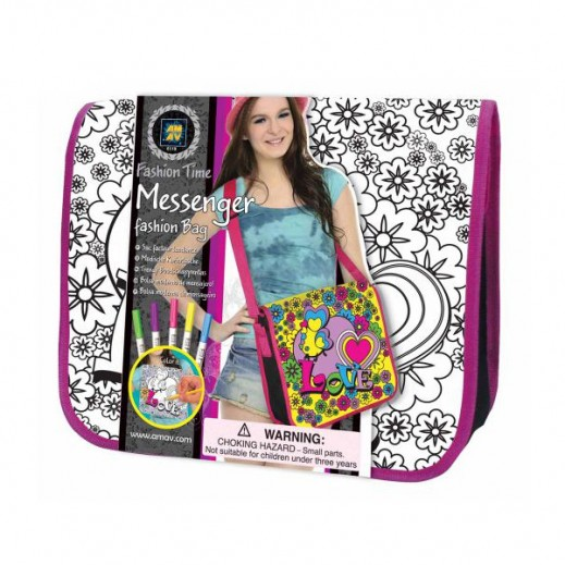 Fashion Time Messenger Bag