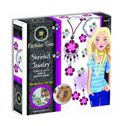 Fashion Time Shrinkit Jewelry Kit