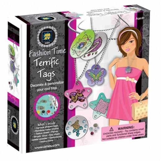 Fashion Time Terrific Tags Craft Kit