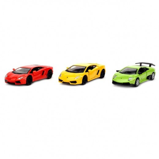 Maisto 4.5 Power Racer Lamborghini 3 Pieces