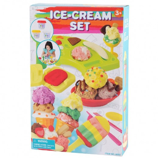 PlayGo Ice Cream Set Clay Dough