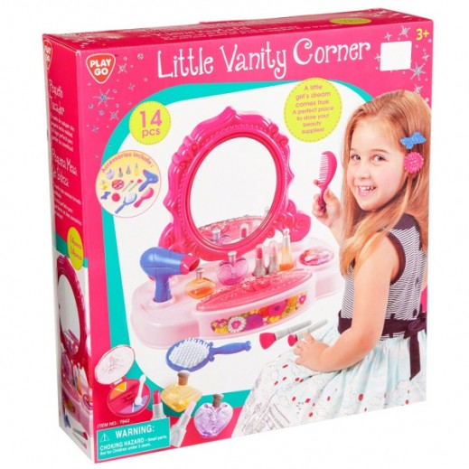 PlayGo Little Vanity Conrner 14 Pieces