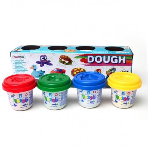 PlayGo Dough Basic Color 4X2 OZ