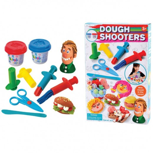 PlayGo Dough Shooters With 2X2 Dough Included