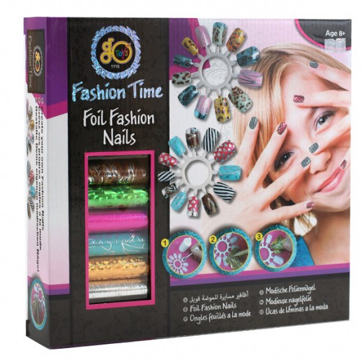 Fashion Time Foil Fashion Nails Kit