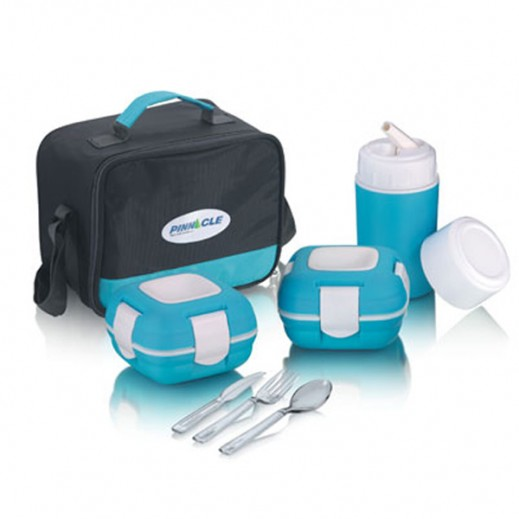 Paloma Lunch Kit 6 Pieces Set - Blue
