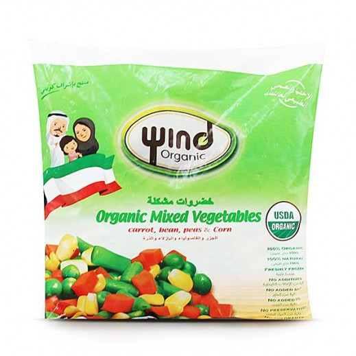 Wind Organic Mixed Vegetables 400 g