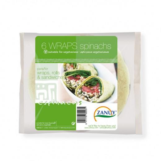 Zanuy Spinachs Sandwiche Wraps 240g (6 Pieces)