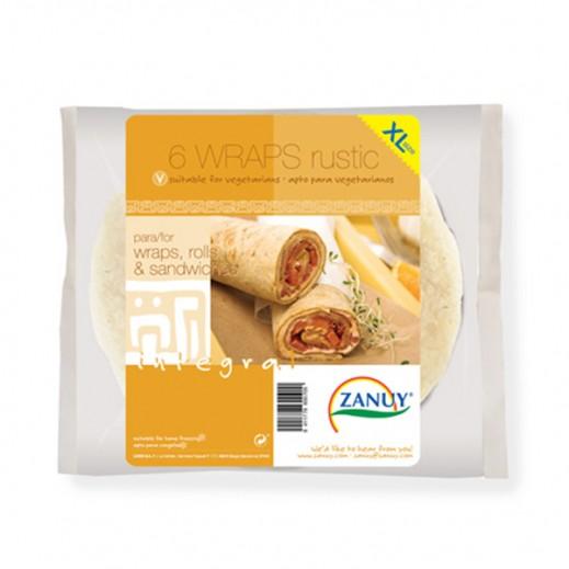 Zanuy Rustic Integral Sandwiches Wraps XL 396g (6 Pieces)