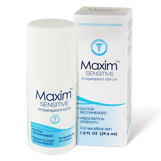 Maxim Doctor Recommended Sensitive Antiperspirant Roll-On 29.6 ml
