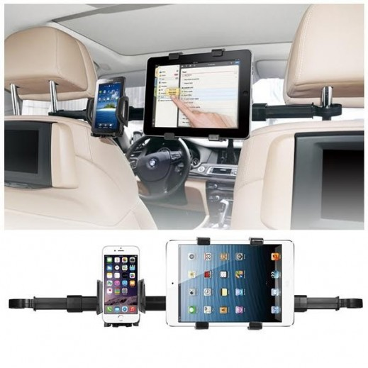 Imount Car Headrest Dual Mount Holder
