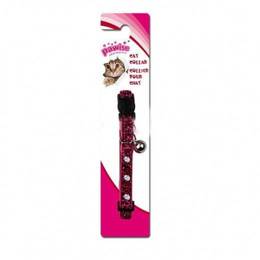 Pawise Cat Collar-Diamond, Rose