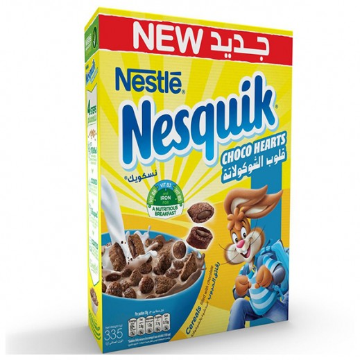 Nestle Nesquik Choco Heart Cereal 335 g