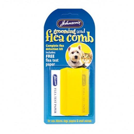 Johnson'S Flea & Grooming Comb (Assorted)
