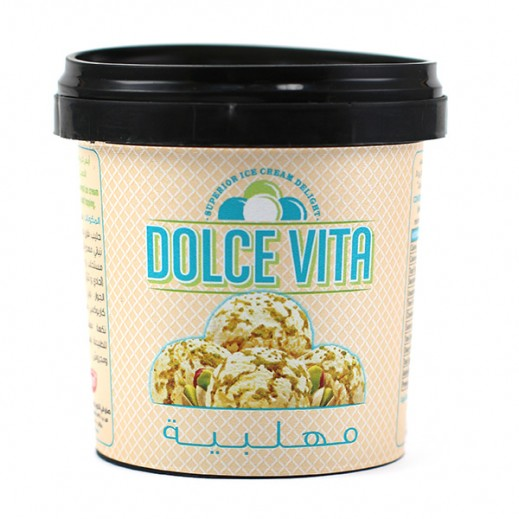 KDD Dolce Vita Muhallabia with Pistachio ice Cream Cups 125 ml