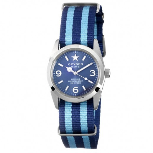 Oxygen SPORT BOSTON Watch For Women Blue/Light Blue EX-S-BOS-38