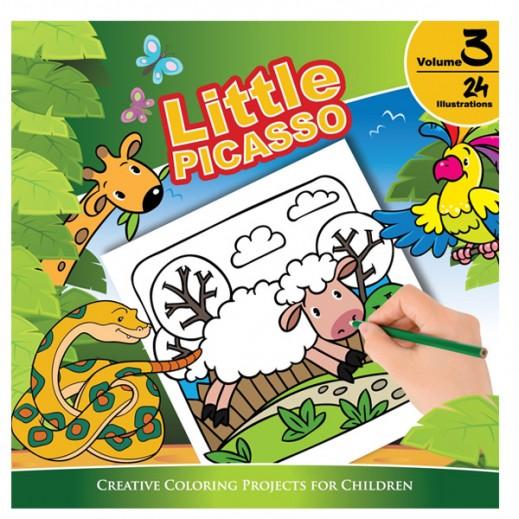 Little Picasso Kidz Coloring Book Vol.3