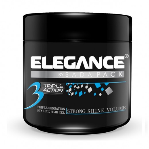 Elegance Triple Action Ultra Styling Hair Gel 1 Ltr