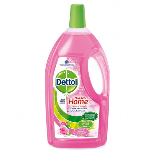 Dettol Disinfectant All Purpose Cleaner Rose 3 L