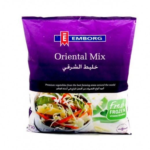 Emborg Frozen Vegetable Oriental 750 g