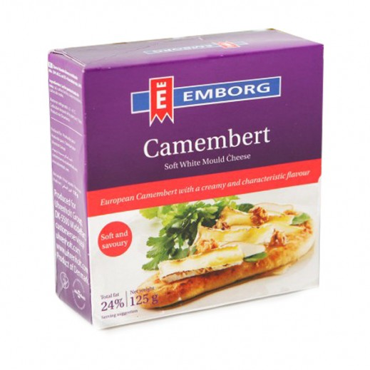 Emborg Camembert Mould Cheese 125 g