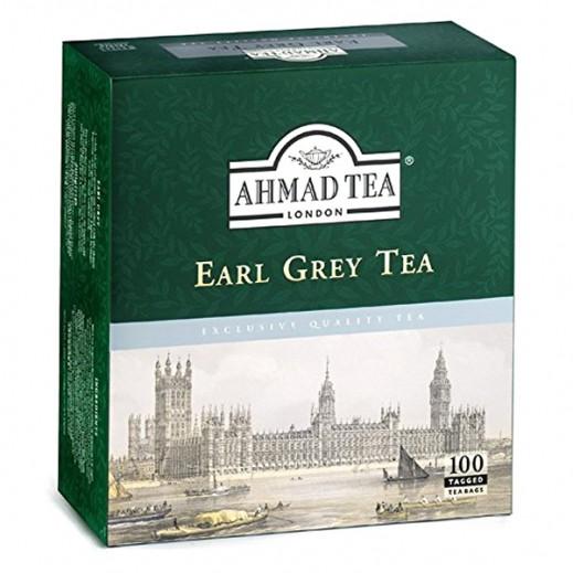 Ahmad Earl Grey Tea 100 Bags