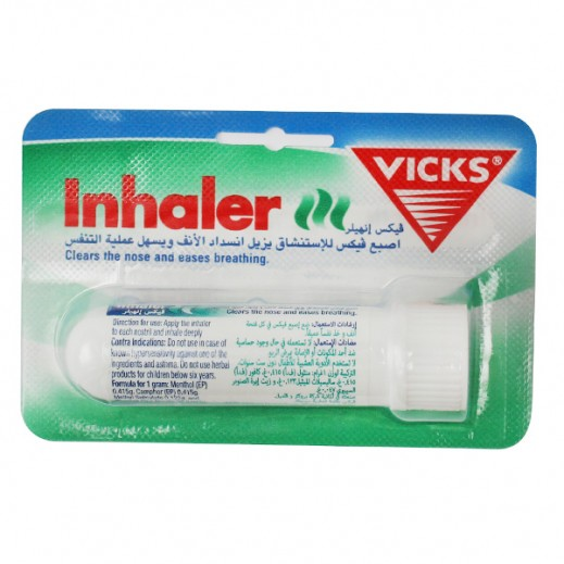 Vicks Inhaler Clears Stuffy Nose 1 ml