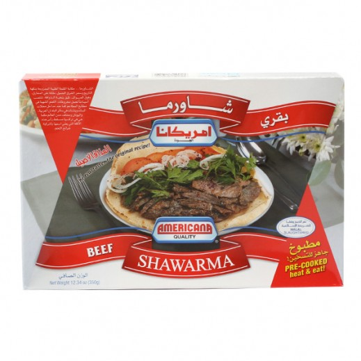 Americana Beef Shawerma 350 g
