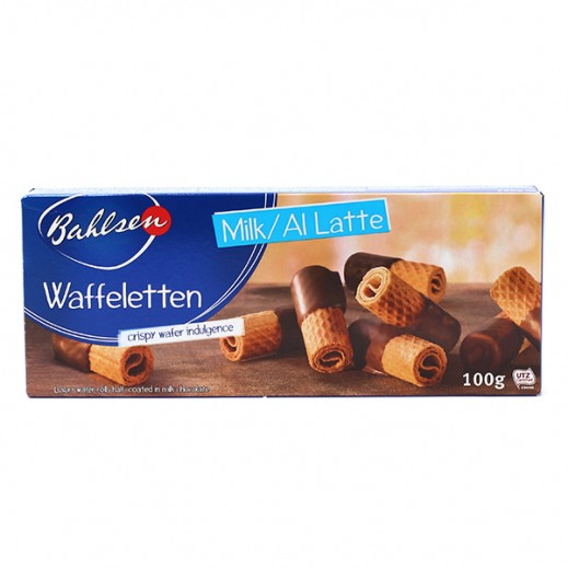 Bahlsen Waffeletten With Milk Chocolate 100 g