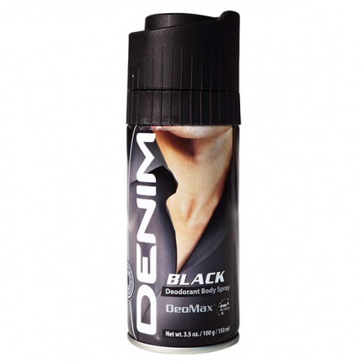 Denim Black Deodorant Body Spray 150 ml