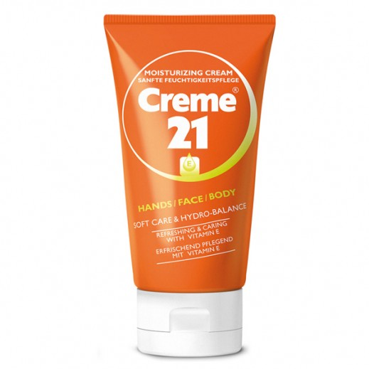 Creme 21 Moisturizing Cream With Vitamin-E 75 ml