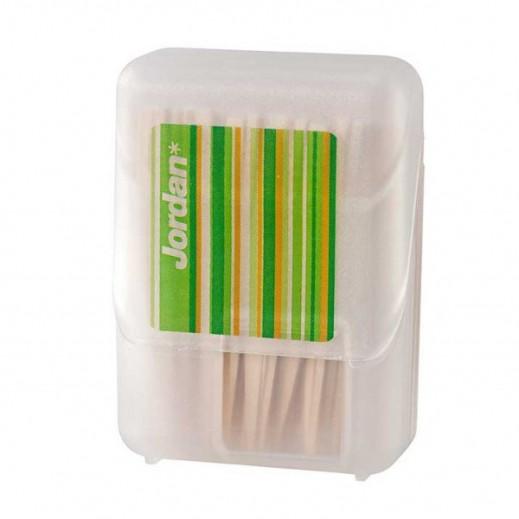 Jordan Dental Wood Sticks Mint 100 pcs