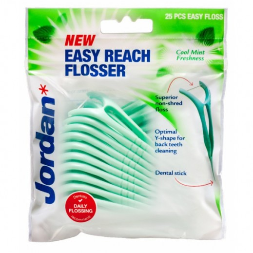Jordan Easy Reach Flosser 25 pcs