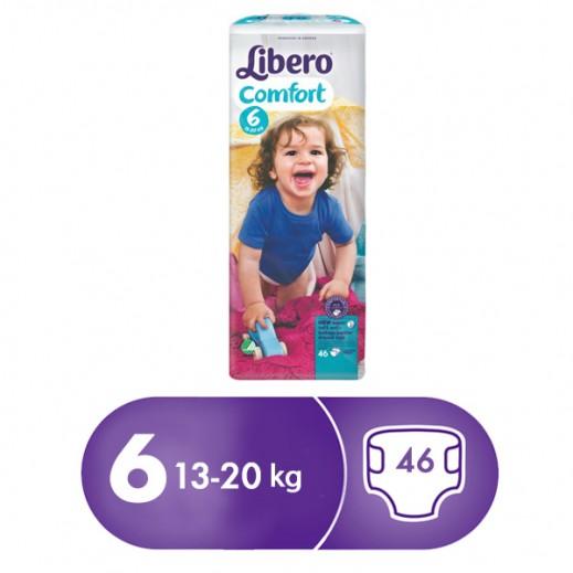 Libero Comfort Fit Diapers Size 6 (13 - 20 Kg) 46 Pieces