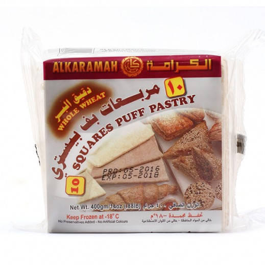 Al Karamah Whole Wheat Puff Pastry 400g