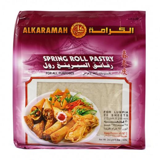 Al Karamah Spring Roll Pastry Big 250g