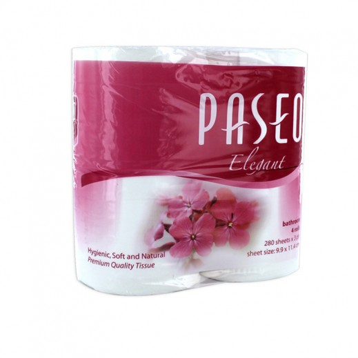 Wholesale - Paseo 280 Sheet Toilet Tissues (48 rolls)