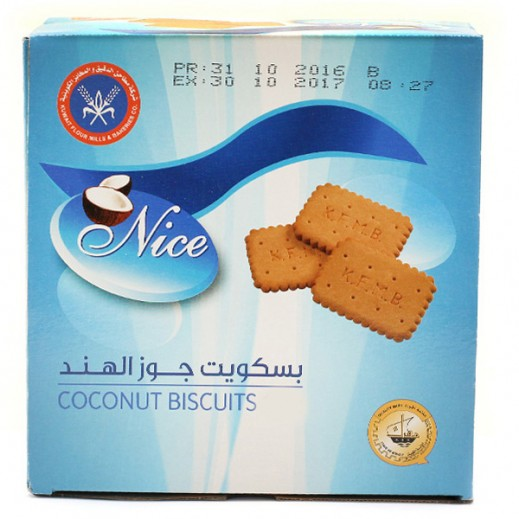 KFM Nice Coconut Biscuits 25 g (24 Pieces)