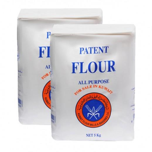 KFM Patent All Purpose Flour 5 kg (2 Pieces)