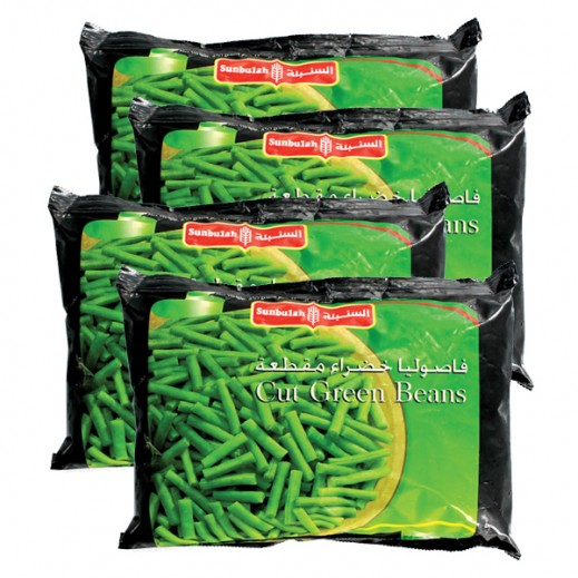 Value Pack - Sunbulah Frozen Cut Green Beans 450 g (4 Pieces)
