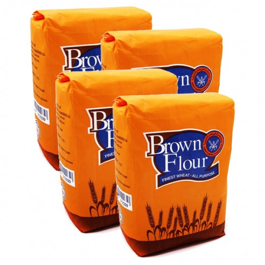 KFM Brown Flour 2 kg (4 Pieces)
