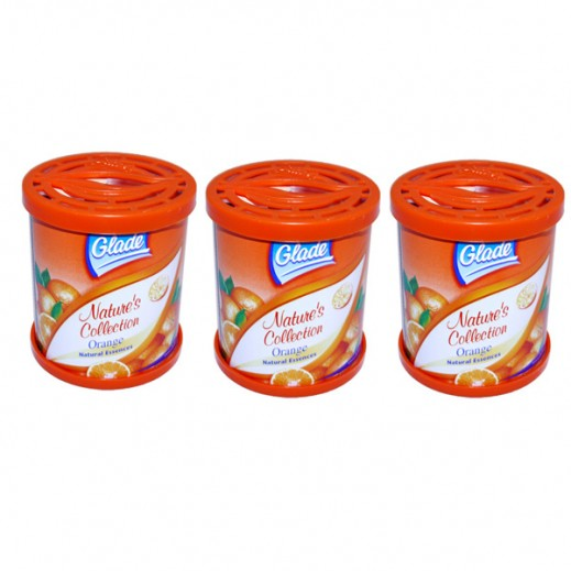 Value Pack - Glade Natures Collection Orange 70 g (3 Pieces)
