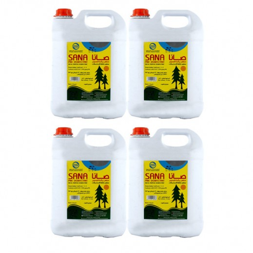 Wholesale - Al-Sana Disinfectant Pine 4 L (4 Pieces)
