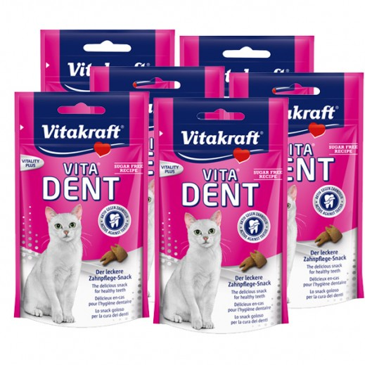 Wholesale - Vita Kraft Vita Dent For Cats 75 g (6 Pieces)