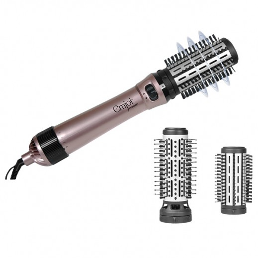 Emjoi Ionic Hot Air Rotating Brush 1000W UERB-551