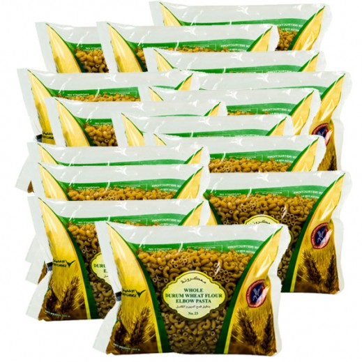 KFM Whole Durum Wheat Flour Elbow Pasta No 23 400 g (20 Pieces)